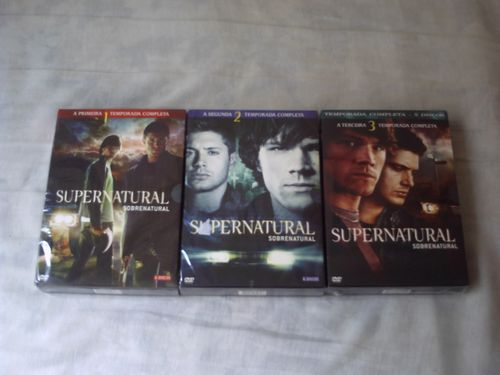 Boxes de Supernatural.